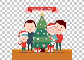 圣诞树卡通,圣诞老人,假日,圣诞装饰品,面积,圣诞装饰,如果,免费,图片