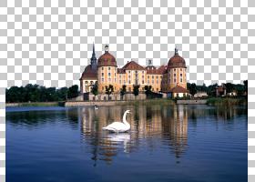 城堡卡通,旅游,水道,立面,水,湖,天空,水城堡,地产,反射,旅游景点图片