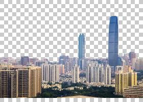 城市天际线,城市景观,摩天大楼,大都市区,共管公寓,天际线,白天,图片