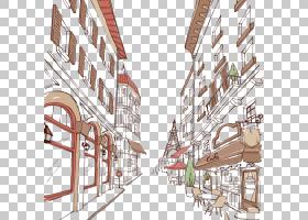 城市天际线剪影,邻里,住宅区,财产,线路,回家,立面,房地产,城市设图片