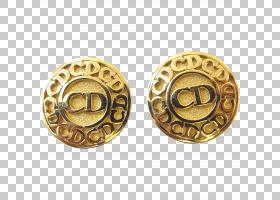 复古背景,黄铜,耳环,金属,材质,按钮,克里斯蒂安・迪奥,设计师服图片