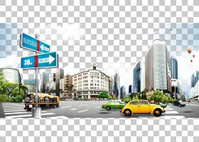 房地产背景,财产,房地产,广告,汽车,建筑,市区,混合使用,大都市,
