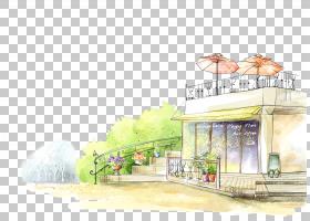房地产背景,回家,立面,房地产,城市设计,油漆,标高,架构,山水画,