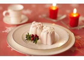 食物,蛋糕,甜点,圣诞节,糖果,礼物,蜡烛,壁纸