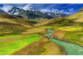 地球,风景,山,风景优美的,领域,天空,云,壁纸,
