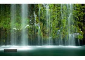 地球,莫斯布雷,瀑布,瀑布,壁纸,
