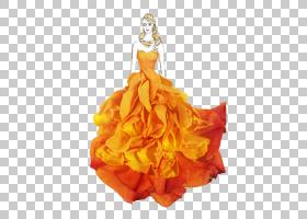 桃花,橙色,服装设计,黄色,桃子,长袍,跑道,艺术家,着装,花瓣,绘图图片