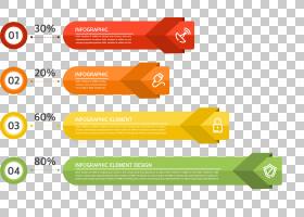 创造力箭头,线路,橙色,网站,数字数字,元素,创造力,图表,箭头,图,