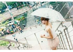 阳光唯美的时尚女性摄影图图片