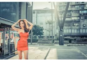 阳光气质美女高清摄影图图片