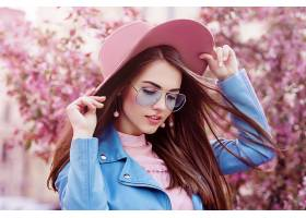 女人,模特,女孩,情绪,妇女,太阳镜,帽子,黑发女人,深度,关于,领域图片