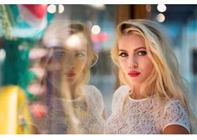 女人,模特,脸,妇女,反射,白皙的,女孩,壁纸,图片