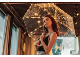 女人,模特,雨伞,壁纸,图片