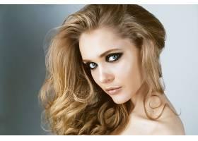 女人,脸,妇女,模特,女孩,蓝色,眼睛,白皙的,壁纸,图片