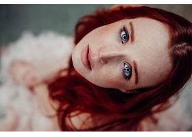 女人,脸,模特,女孩,蓝色,眼睛,妇女,红发的人,壁纸,图片