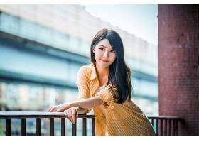 女人,亚洲的,妇女,模特,女孩,深度,关于,领域,长的,头发,黑色,头