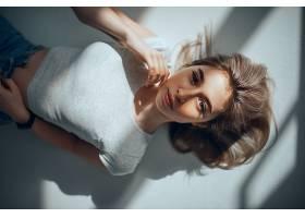 女人,模特,妇女,女孩,白皙的,蓝色,眼睛,壁纸,(3)