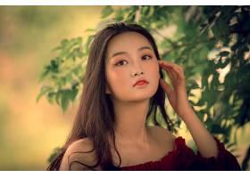 女人,亚洲的,妇女,模特,女孩,黑发女人,长的,头发,棕色,眼睛,壁纸图片