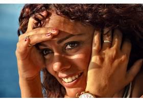 女人,脸,妇女,模特,女孩,棕色,眼睛,微笑,壁纸,