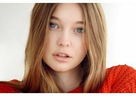 女人,脸,妇女,模特,女孩,白皙的,蓝色,眼睛,凝视,壁纸,