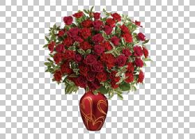 圣诞礼物卡通,粉红色家庭,插花,花盆,人造花,玫瑰秩序,玫瑰,玫瑰图片