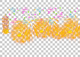 圣诞节和新年背景,花瓣,橙色,爆竹,水彩画,圣诞节,元宵节,元旦,橘