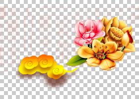 春节花卉背景,花卉,花束,橙色,切花,插花,花卉设计,黄色,花瓣,花,