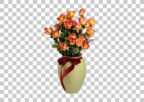 圣诞节冬季背景,花卉,花束,橙色,切花,花卉设计,插花,花瓶,玫瑰秩
