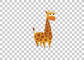 大象卡通,橙色,长颈鹿,长颈鹿,大象,剪影,绘图,滑稽动物,动物,卡图片