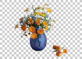 花卉背景,橙色,插花,植物,野花,想法,静物,花瓶,花盆,人造花,花束