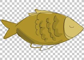 海龟卡通,卡通,黄色,食物,海龟,鱼,
