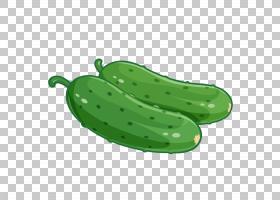 蔬菜卡通,小黄瓜,绿色,黄瓜,水果,配料,津津有味,食物,海报,蔬菜,