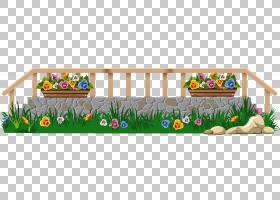 花边,草,植物,草族,材质,播放,链条栅栏,花园,草坪,花园里,尖桩栅