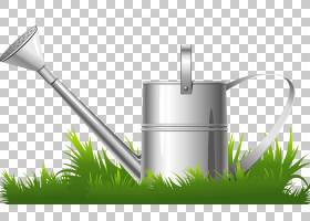 花园里,草族,浇水罐,能源,草,水,花,工具,园艺叉子,园艺,园艺工具