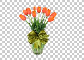 百合花卡通,种子植物,百合家族,插花,花卉,花盆,植物,开花,礼物,图片