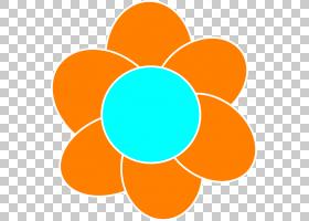 花圈,线路,圆,黄色,面积,对称性,锯齿,光栅图形,花,橙色,