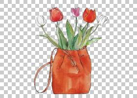 花束画,花卉,花束,橙色,花瓶,插花,花盆,花瓣,桃子,人造花,植物,