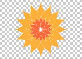 背景传单,树,花瓣,对称性,线路,向日葵,植物,植物群,叶,橙色,黄色