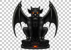 龙背景,机翼,雕塑,动作人偶,小雕像,龙,恶魔,剪影,石嘴兽,图片