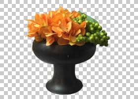 粉红色花卡通,植物,橙色,粉红色,风景园林,花瓶,蛾兰花,植物,灌木图片