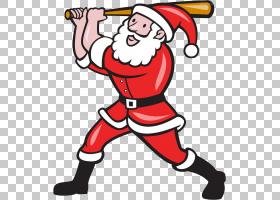 圣诞圣诞老人,圣诞节,线路,交换机击球器,棒球棒,击球手,棒球运动图片