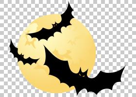 万圣节海报背景,叶子,蝙蝠,海报,巫术,平面设计,万圣节前夕,
