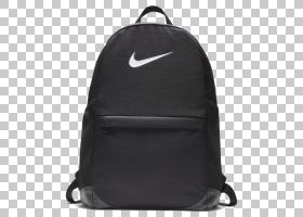 耐克Swoosh,行李袋,黑色,耐克元素Ba5405,耐克俱乐部Swoosh队,耐