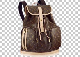 背包卡通,肩包,行李袋,棕色,皮带,服装,画布,皮革,时尚,口袋,皮带