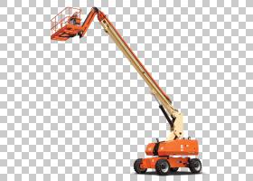 JLG工业起重机,走在割草机后面,车辆,线路,施工设备,起重机,伸缩,