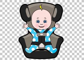 婴儿背景,卡通,蹒跚学步的孩子,微笑,头盔,安全带,汽车座椅,孩子,