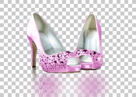 婚礼时尚,高跟鞋,洋红色,丁香,粉红色,周杰明(Jimmy Choo),斯图尔