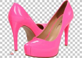 小猫卡通,桃子,碱性泵,洋红色,粉红色,鞋类,高跟鞋,专利皮革,凉鞋