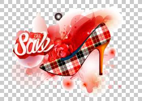爱情背景心,红色,情人节,文本,爱情,心脏,宣传,广告,像素,海报,鞋