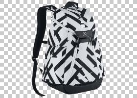 齿轮背景,长曲棍球保护装置,行李袋,黑白,黑色,白色,行李,服装辅